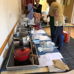 Dye pots and pans